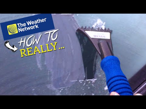 STOP SCRAPING - How to really defrost your windshield