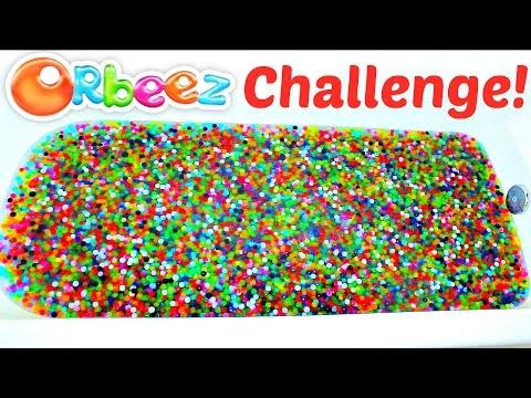 Orbeez Bath Challenge! Orbeez Filled Bathtub!