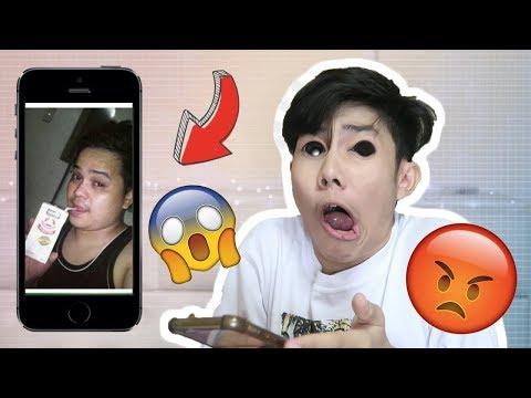 MAY NAG HACK NG CELLPHONE KO HALA! OMG! (SINO SYA?) | RenielReyesTV