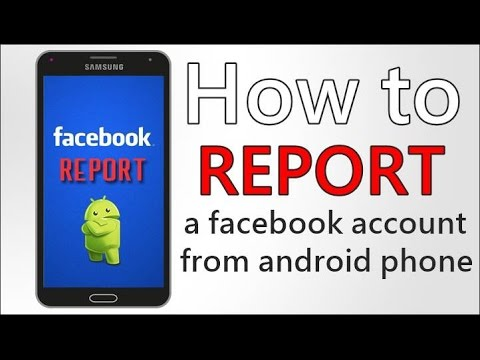 How to report a facebook account in android phone 2016 | by Leon Arkedy