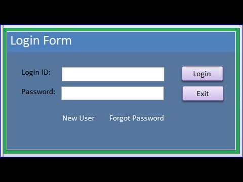 Create Login Form with c# and sql server