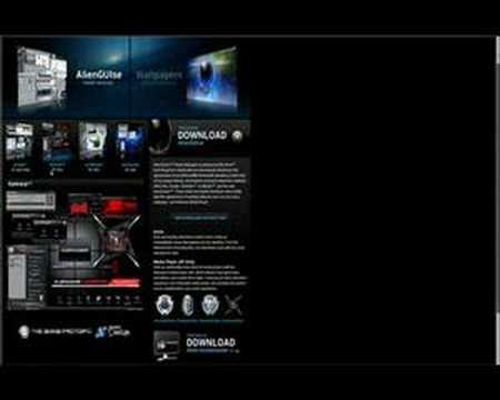 Alienware Desktop Skins (free download)
