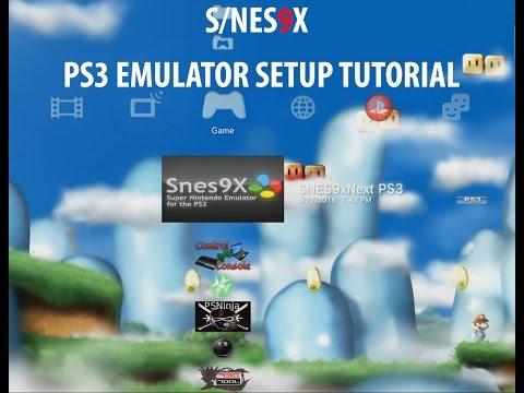 SNES EMULATOR PS3