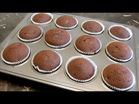 ✿ How To Make Chocolate Cupcakes by cook with Madeeha With English Subtitles ✿