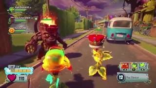 The Torchwood and Goat! Plants vs Zombies Garden Warfare 2