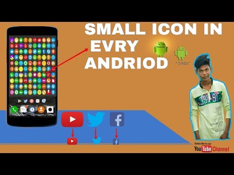 Best android apps to make small icon in every smartphone