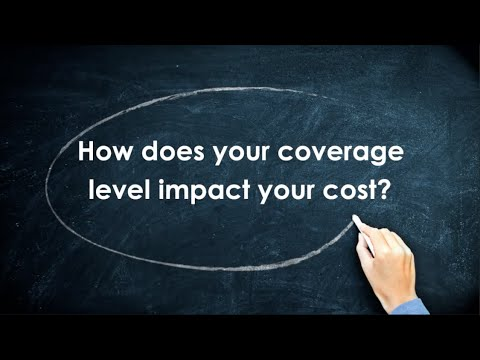 Health Insurance 101: How does coverage level impact your cost?