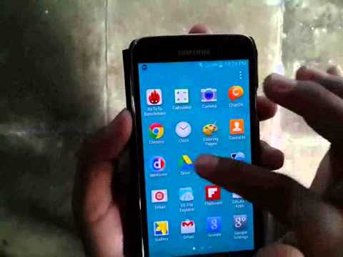 Samsung Galaxy S5 : How to Delete Apps (Android Phone)