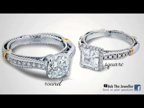 How to Choose a Diamond Ring Savoy's Jewellers Sault Ste. Marie Verragio Engagement Rings