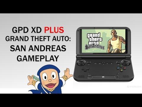 GPD XD Plus (GPD XD+) 2018 Gameplay Test: GTA San Andreas Android (Read Update Below)