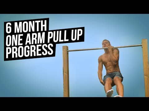 One Arm Pull Up Progress - 6 Month Journey