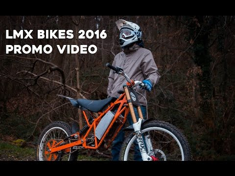 LMX bikes promo 2016 - Electric motocross bike