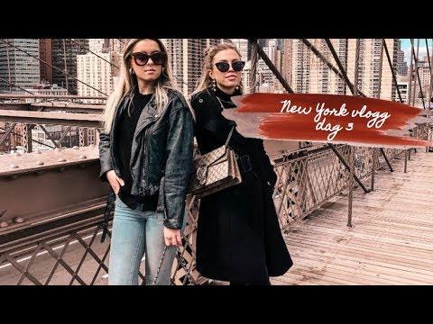NEW YORK VLOGG #3- BROOKLYN BRIDGE, TOP OF THE ROCK & NEW JERSEY | MAYA PARNEVIK