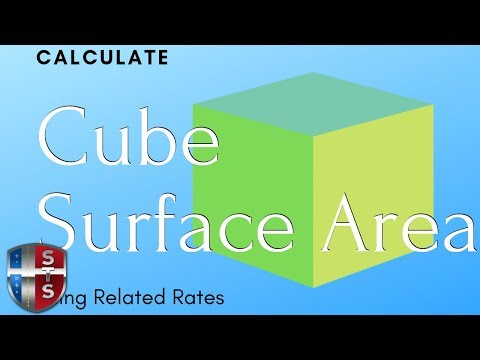 Calculus - Related Rates - Cube Surface Area - Analytics