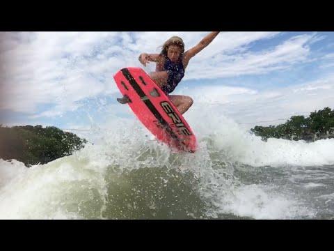 Wake Surfing Tricks | Ashley Kidd