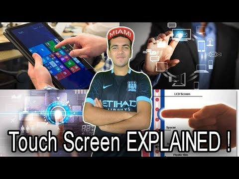 How Does Touch Screen Works ? Touch Screen Technology Quickly Explained In HINDI