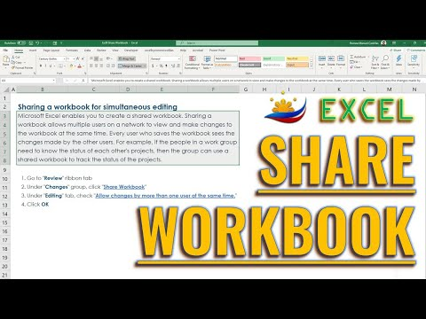 Excel Share Workbook