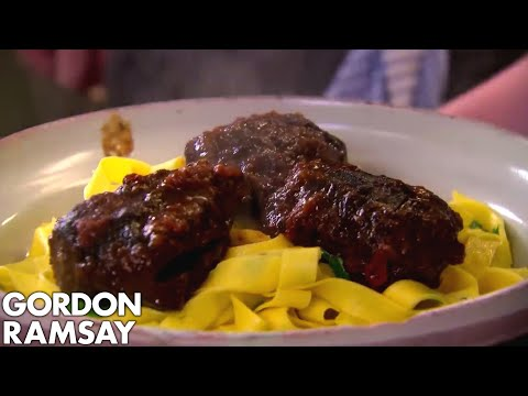 Slow Braised Beef Cheeks with Pappardelle   Gordon Ramsay
