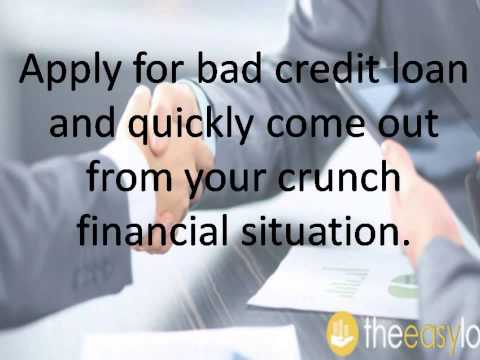 Guaranteed Loans in the UK for Bad Credit