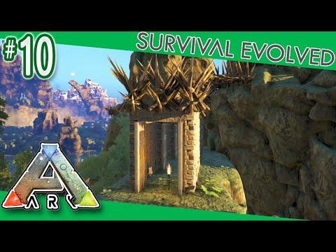 ARK: Survival Evolved - PVP Tower Dino Pen!  S4E10