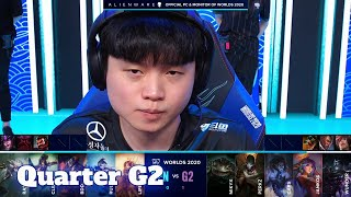 GEN vs G2 - Game 2 | Quarter Finals S10 LoL Worlds 2020 PlayOffs | Gen.G vs G2 eSports G-2 full