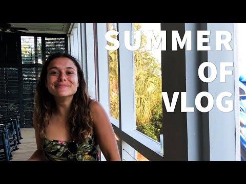SUMMER OF VLOG #1: Adventures in Charleston, Sullivan's Island, & Newark Airport