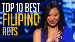 Top 10 Best Filipino Acts EVER On American & Britain Talent Shows - Which One Is Your Favorite?