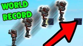 ROBLOX ULTRA JUMPING SIMULATOR *BEATING A WORLD RECORD*