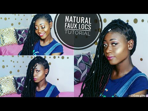 Most Natural Faux Locs Ever || Do It Yourself In Less Than 2 hrs