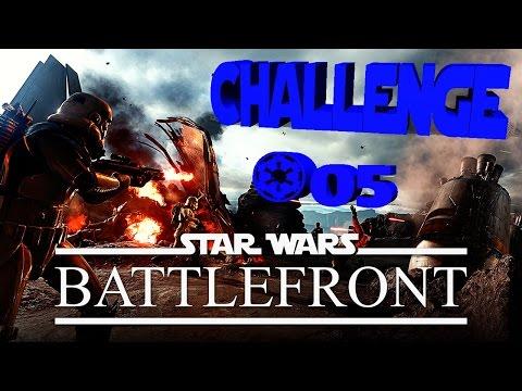 Star Wars Battlefront #05 | Challenge-Time | 20 Kills mit der DLT-19 (PS4)