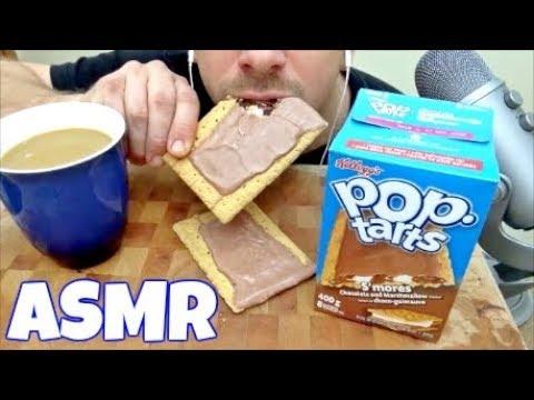 ASMR   S'MORES POP TARTS *EXTREME EATING SOUNDS*