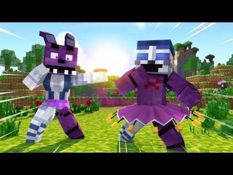 Minecraft FNAF: Ballora and Bonnie Switch Bodies (Minecraft FNAF Roleplay)