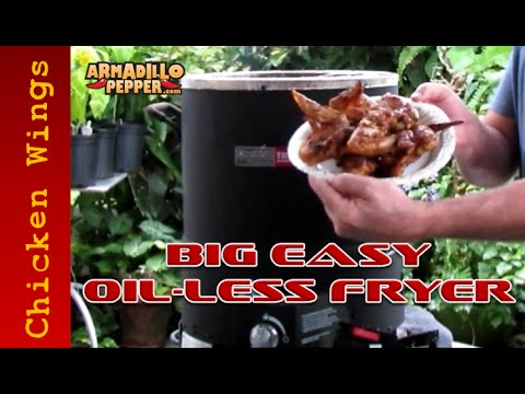 How to Make Chicken Wings | Char-Broil's Big Easy Oil-less Fryer