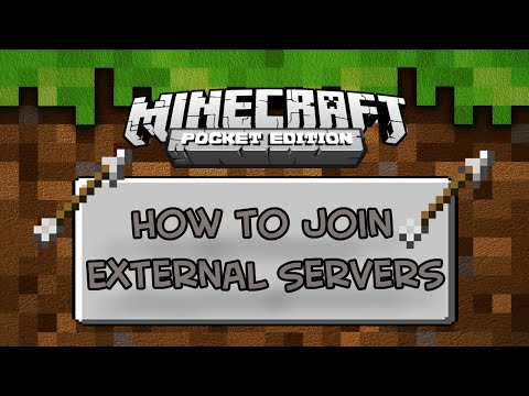 0.10.5 Minecraft PE :: Tutorial :: How To Join External Servers