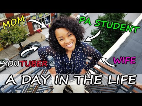 Day In The Life of a Physician Assistant (PA) Student (VLOG) - Mom, Wife and Youtuber