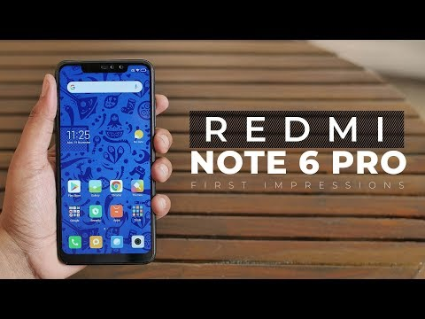 Redmi Note 6 Pro First Impressions: Xiaomi Disappoints!