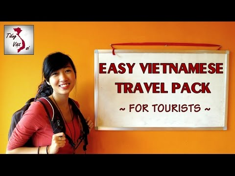 Learn Vietnamese with TVO | Easy Travel Pack: Part 1/2