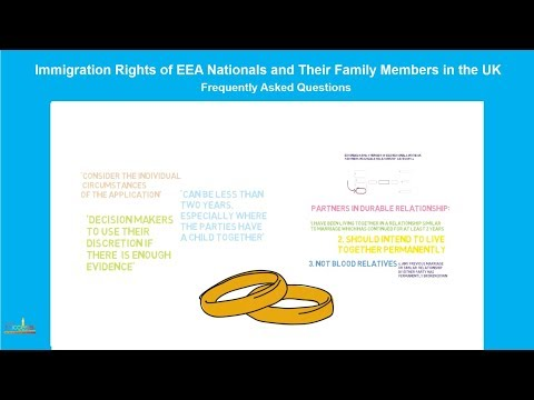 Extended family members of EEA nationals in the UK, Partners in Durable Relationship (4 of 4)