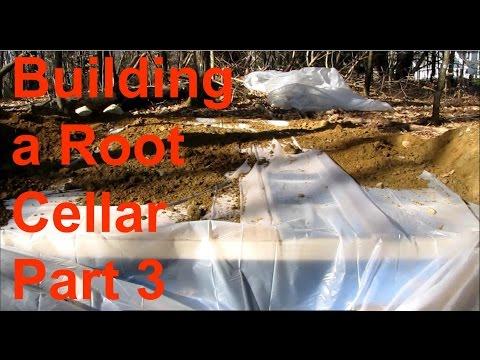 Homemade root cellar part 3