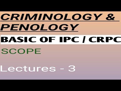 Criminology penology and victimology class in hindi // IPC BASICS ( indian penal code)