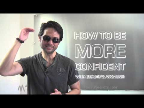 HOW TO BE CONFIDENT AROUND BEAUTIFUL WOMEN ( OVERCOME SHYNESS & NERVOUS BEHAVIOR TALKING TO GIRLS )