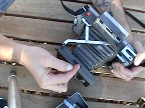 Instructions for Polaroid Packfilm Camera