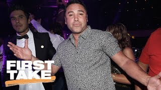 Oscar De La Hoya Criticizes Mayweather-McGregor Fight | First Take | May 26, 2017
