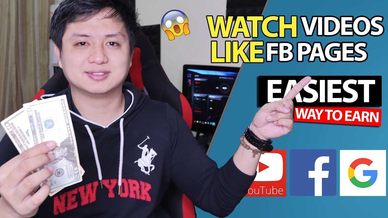 Easiest way to earn money $9-$20/week by Watching Videos & Liking Facebook Pages (SIMPLE MICRO JOBS)