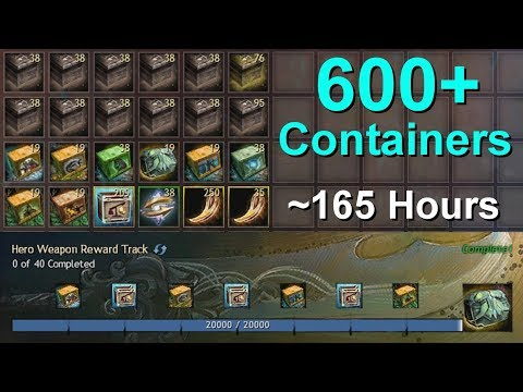 Loot From 19 x Hero Weapon Reward Track  |  Guild Wars 2