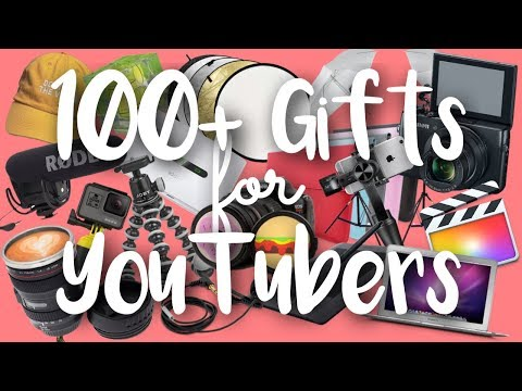 100+ Holiday Gift Ideas for YouTubers 2017! | SimplyMaci