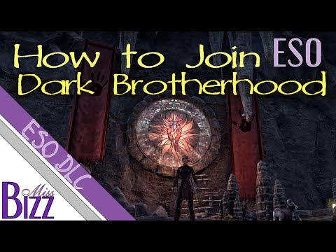 How to Join Dark Brotherhood ESO DLC - How to get to Gold Coast in Elder Scrolls Online
