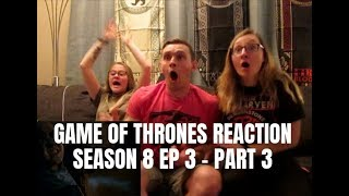 Download GAME OF THRONES REACTION - SEASON 8 EPISODE 3 (PART 3) Video