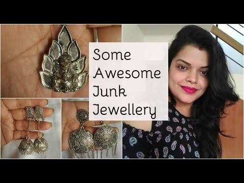 SUPER AFFORDABLE - SOME AMAZING JUNK JEWELLERY - INDIAN ANTIQUE JEWELLERY