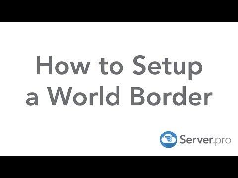 How to Setup a World Border - Server.pro